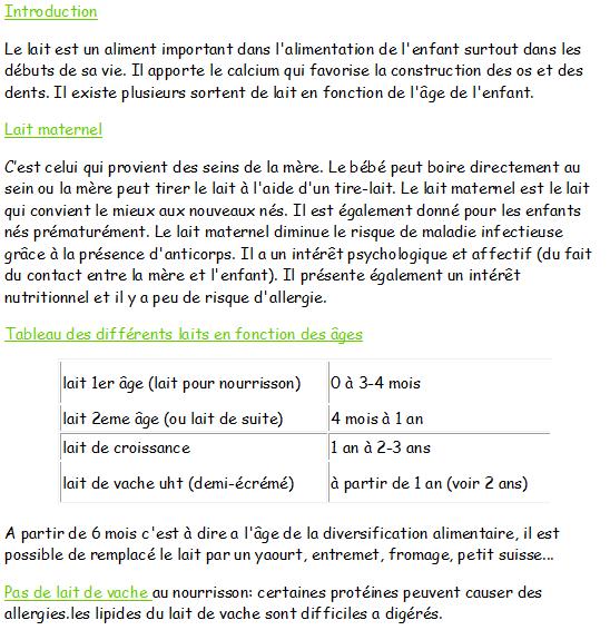 Berühmt Pour réviser le CAP petite enfance - Page 4 NC35